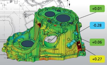 SBScansioni3D-Confronto dimensionale CAD/STL